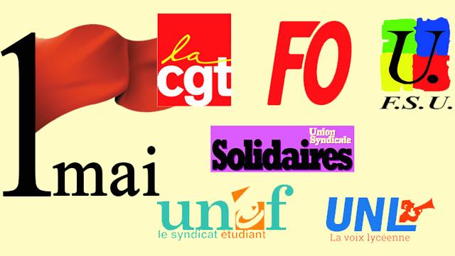 f0ea91d389d Manifestations intersyndicales du premier mai – Appel commun CGT-FO ...